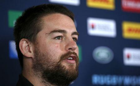FILE PHOTO: Rugby Union - New Zealand Press Conference - Swansea RFC, Wales - 15/10/15 New Zealand's Dane Coles during the press conference Action Images via Reuters / Peter Cziborra Livepic