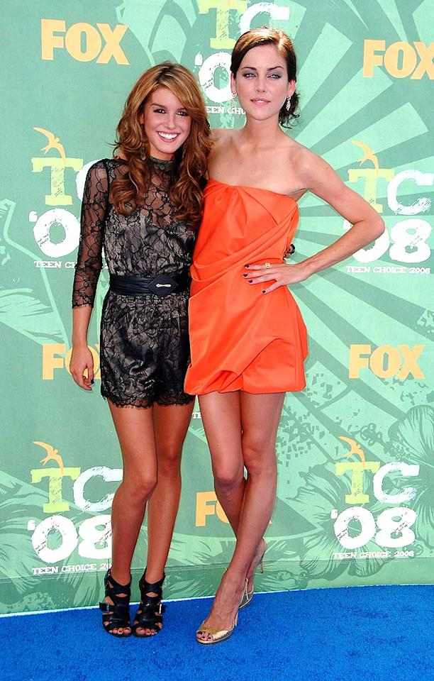 "Cassie's fellow ""Degrassi"" stars Shenae Grimes and Jessica Stroup also scared us in their unsightly ensembles. Steve Granitz/<a href=""http://www.wireimage.com"" target=""new"">WireImage.com</a> - August 3, 2008"