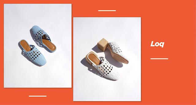 <p><strong>Origin: </strong>Los Angeles<br><strong>Style: </strong>Loq, featuring a mix of woven mules, leather slides, and suede slippers, will give you all the relaxed classics that you want to wear, season to season. Founded by Keren Longkumer and Valerie Quant, the name Loq is derived in part from each of their surnames. <br><strong>Price: </strong>Starting at $290<br><strong>Shop: </strong>Available at <span>garmentory.com</span><br>(Photo: Loq) </p>