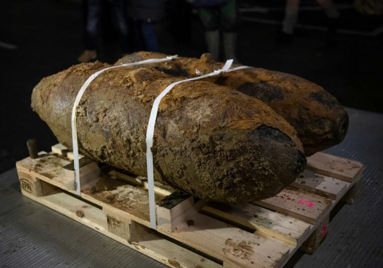 Two WWII bombs made safe in Germany