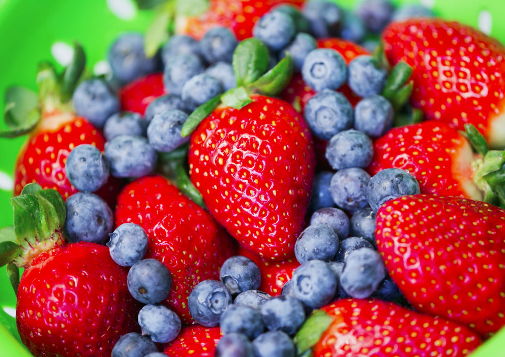 <p>We need 300g of fruit per day to avoid heart-related deaths.<br /> (Picture: Rex) </p>