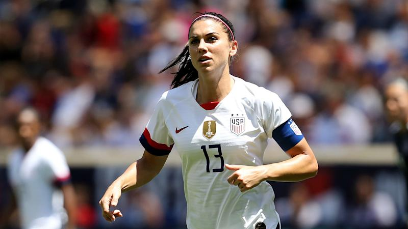 Alex Morgan USWNT Mexico 05262019