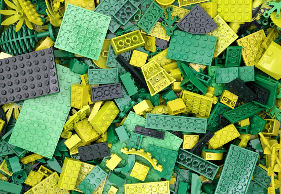 Lego bricks will soon come in bags certified by the Forest Stewardship Council. Credit: Getty.