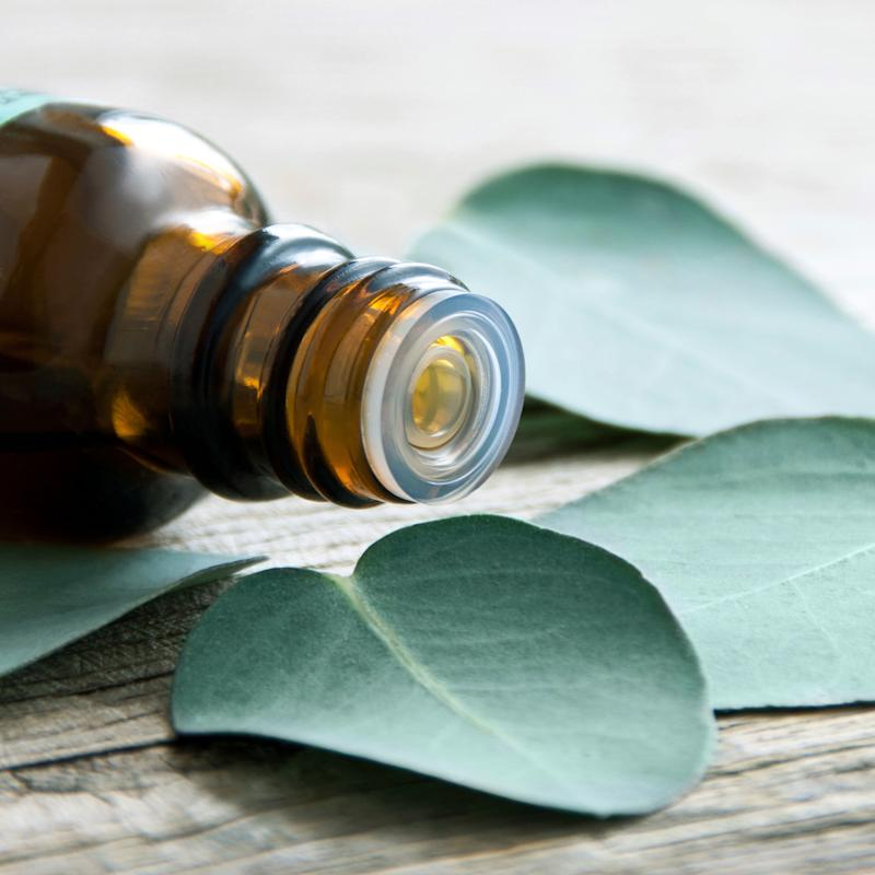 Remove gum residue left from stickers with Eucalyptus oil.