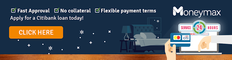 Apply for a Citibank personal loan today!