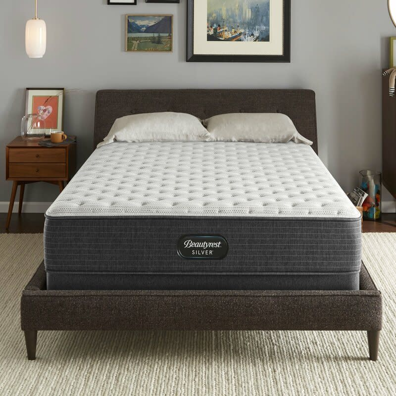 "Beautyrest Silver 12"" Extra Firm Hybrid Mattress (Photo: Wayfair)"