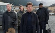 """<p>And so, Yahoo Movies UK's favourite film of 2018 is the sixth <i>Mission: Impossible</i> film. Christopher McQuarrie delivered an incredible piece of action cinema that raised the stakes to impossible levels, while never underselling the human story beneath.<br>""""Exhilarating, fun and without a shred of CGI, this is what action blockbusters films should look like. The helicopter scene actually took my breath away."""" (Ben Falk) </p>"""
