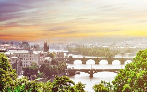 Vlata River and Prague - Credit: Getty