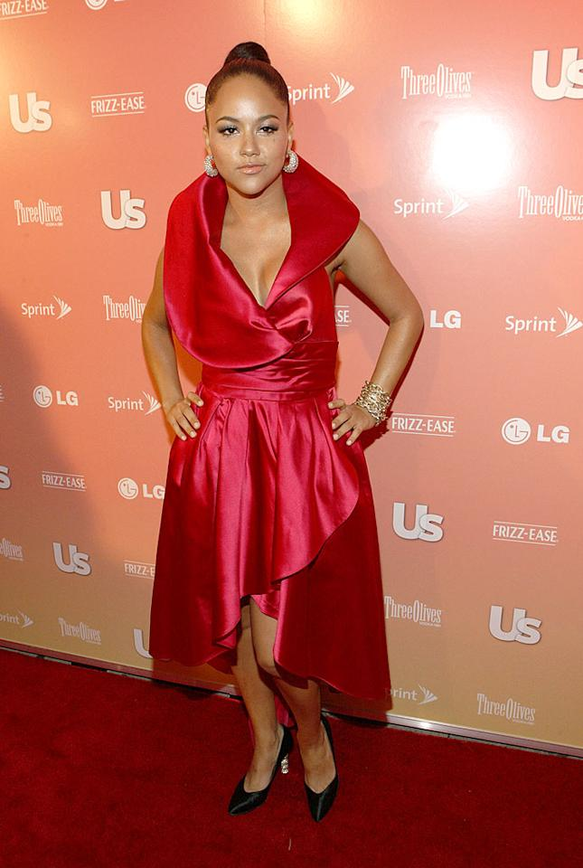 """Even Kat DeLuna looks disappointed with the fuchsia prom bomb she donned for Us Weekly's """"25 Most Stylish New Yorkers"""" soiree. We don't blame her. Bennett Raglin/<a href=""""http://www.wireimage.com"""" target=""""new"""">WireImage.com</a> - September 16, 2009"""