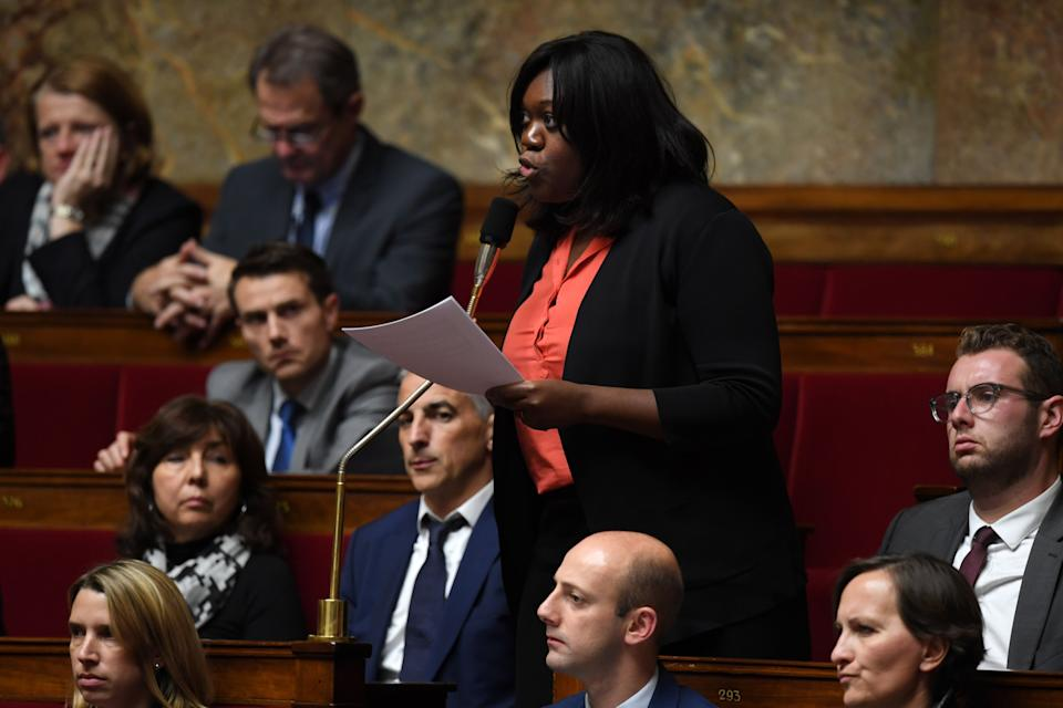 La députée LREM de Paris, Laetitia Avia, photographiée à l'Assemblée nationale en 2017 (illustration) (Photo: AFP Contributor via Getty Images)