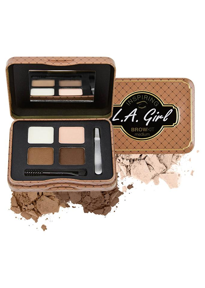 "L.A. Girl Inspiring Brow Kit, $8.99; at <a rel=""nofollow"" href=""http://www.ulta.com/inspiring-brow-kit?productId=xlsImpprod15711021"" rel="""">Ulta</a>"