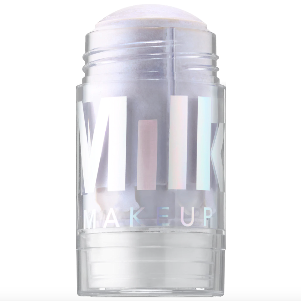 """<br><br><strong>Milk Makeup</strong> Holographic Stick, $, available at <a href=""""https://go.skimresources.com/?id=30283X879131&url=https%3A%2F%2Ffave.co%2F3yL8osR"""" rel=""""nofollow noopener"""" target=""""_blank"""" data-ylk=""""slk:Sephora"""" class=""""link rapid-noclick-resp"""">Sephora</a>"""