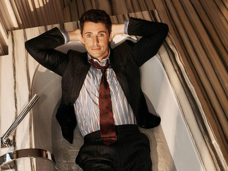 Matthew Goode named as face of Pink Shirtmaker