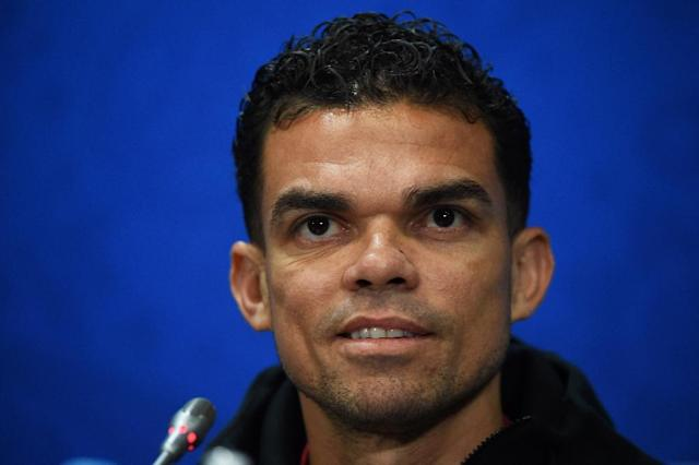 Pepe will hope for an easier time against Morocco after a bruising battle with Spain's Diego Costa (AFP Photo/Fadel SENNA)