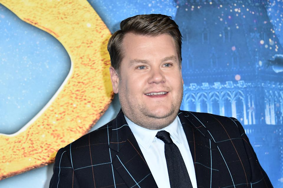 """James Corden attends the world premiere of """"Cats"""" at Alice Tully Hall, Lincoln Center on December 16, 2019 in New York City. (Photo by Steven Ferdman/Getty Images)"""