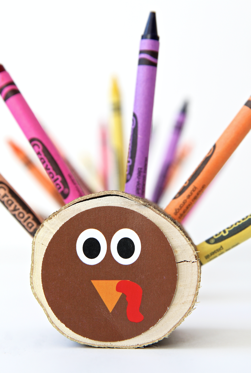 """<p>A craft that helps you craft? We're sold. Your kids can help you make this one—then, you can place it onto their table during Thanksgiving for even more coloring fun.</p><p><strong>Get the tutorial at <a href=""""https://pagingsupermom.com/diy-crayon-turkeys/"""" rel=""""nofollow noopener"""" target=""""_blank"""" data-ylk=""""slk:Paging Super Mom"""" class=""""link rapid-noclick-resp"""">Paging Super Mom</a>.</strong></p><p><strong><a class=""""link rapid-noclick-resp"""" href=""""https://www.amazon.com/Crayola-Bulk-Crayons-52-3008-12-Pack/dp/B002OF2C50?tag=syn-yahoo-20&ascsubtag=%5Bartid%7C10050.g.28638625%5Bsrc%7Cyahoo-us"""" rel=""""nofollow noopener"""" target=""""_blank"""" data-ylk=""""slk:SHOP CRAYONS"""">SHOP CRAYONS</a></strong></p>"""
