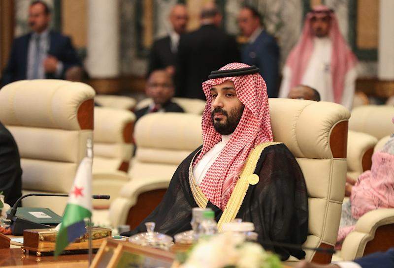 Saudi Crown Prince Mohammed bin Salman said he would protect his country's vital interests