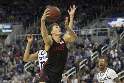 Utah State wins Mountain West tournament title