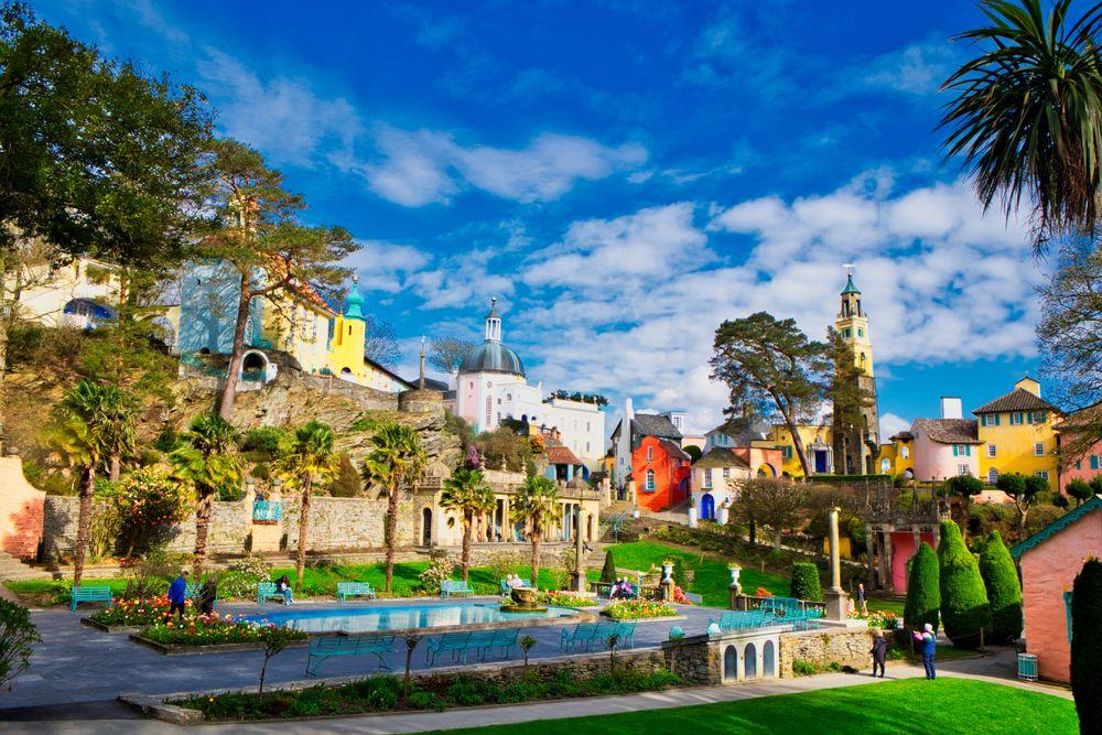 <p>Renowned for its stunning setting and sub-tropical gardens, Portmeirion is an enchanting Italianate village in Wales and is the second most Instagrammable location.</p>