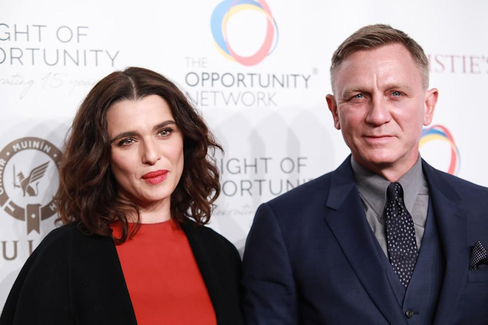 NEW YORK, NY - APRIL 9: Rachel Weisz and Daniel Craig attend The Opportunity Network's 11th Annual Night of Opportunity Gala at Cipriani Wall Street on April 9, 2018 in New York City. (Photo by Gonzalo Marroquin/Patrick McMullan via Getty Images)