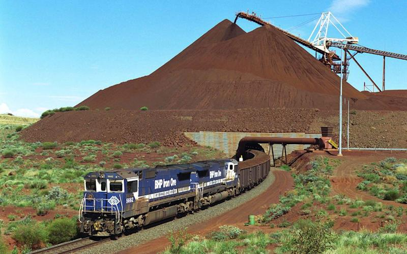 BHP Billiton needs to replace depleting production from its Yandi iron ore mine