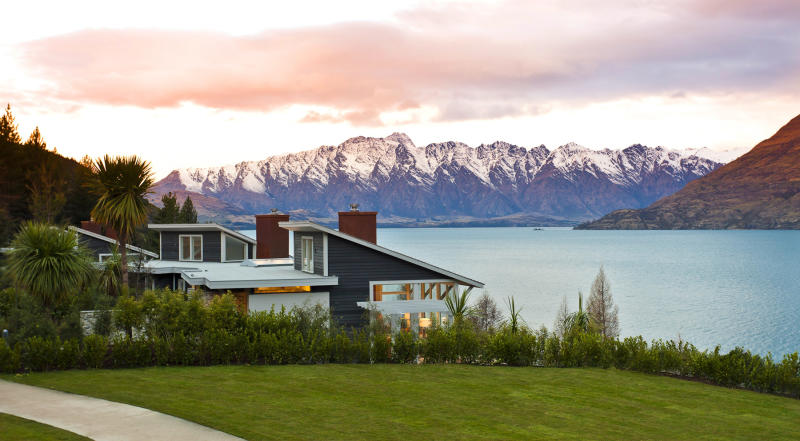 A view of The Remarkables mountain range and Lake Wakitipu in Queenstown. Source: AAP