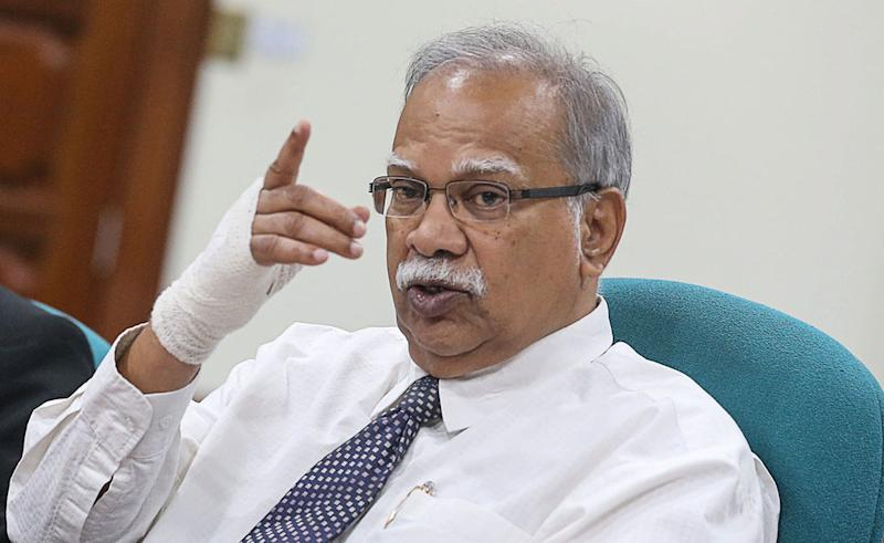 Penang Deputy Chief Minister II P. Ramasamy is ready to face India-born fugitive televangelist Dr Zakir Naik in court for defamation. — Picture by Sayuti Zainudin