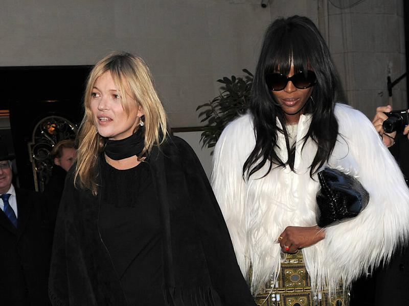 Kate Moss 'doesn't always listen' to Naomi Campbell's make-up tips