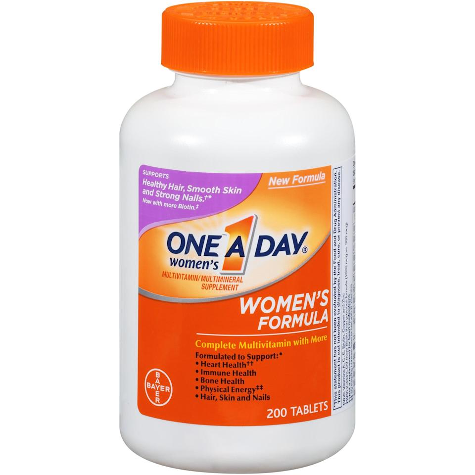 One A Day Women's Adult Multivitamin Tablets