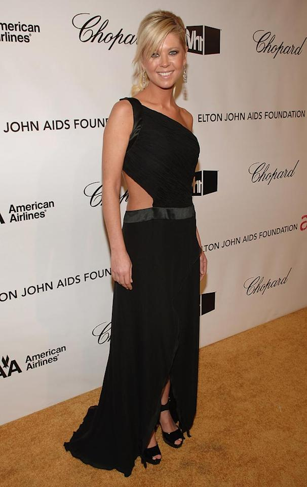 """<a href=""""http://movies.yahoo.com/movie/contributor/1800018652"""">Tara Reid</a> at the 16th Annual Elton John AIDS Foundation Party at the Pacific Design Center in West Hollywood - 02/24/2008"""