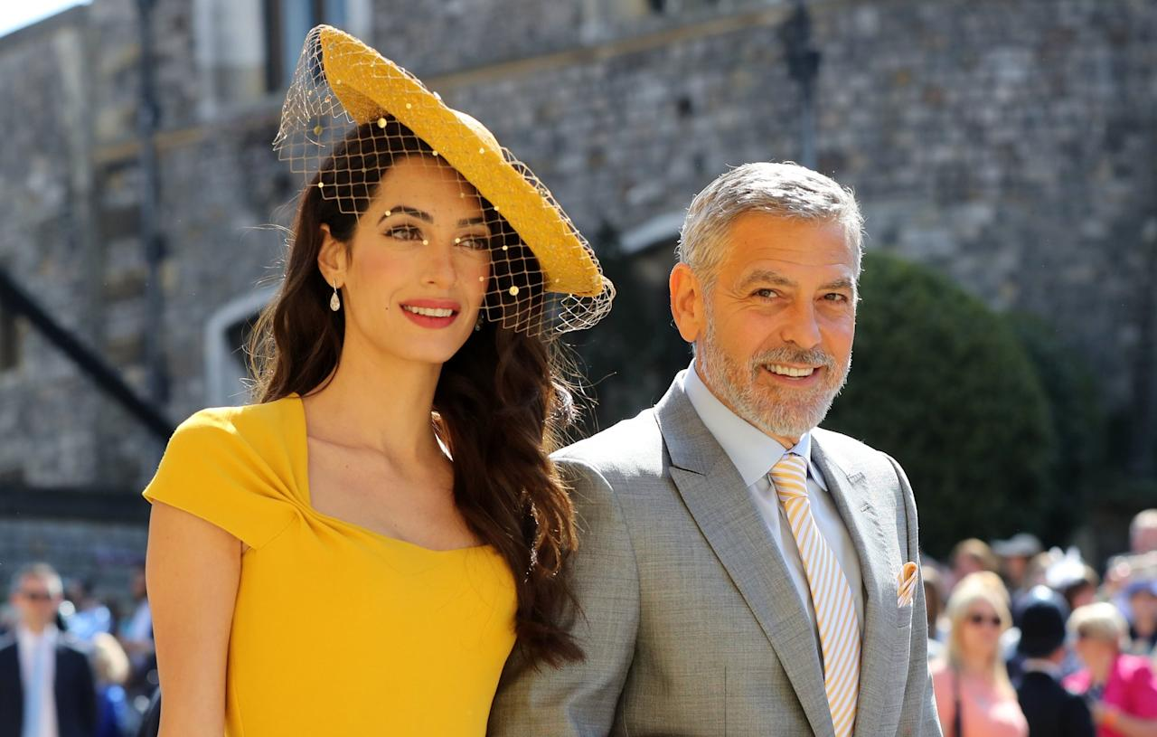 Of Course This 1 Makeup Artist Did Amal Clooney's Royal