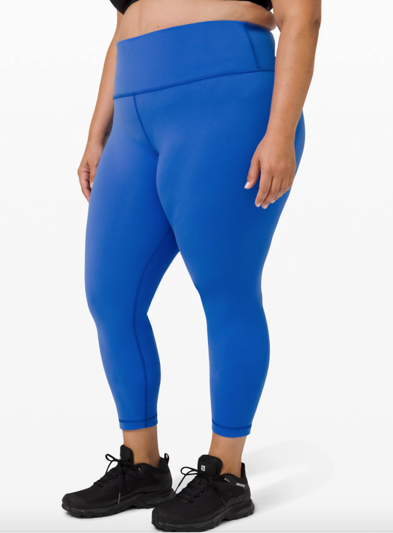 "Wunder Train High-Rise Tight 25"". Image via Lululemon."