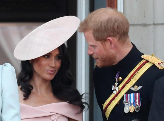 The Duke and Duchess of Sussex. (Photo: Getty Images)