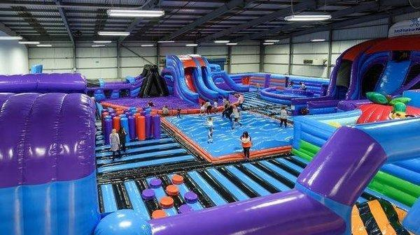 Don't Fancy The Gym? Manchester Has Launched A 'Bouncy Castle' Fitness Class