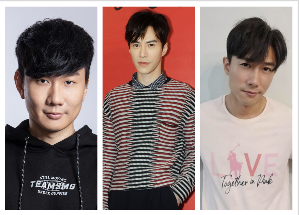 JJ Lin, Lawrence Wong and Desmond Tan are among this year's most-searched Singapore celebs on Yahoo. (Photos: JJ Lin, Getty, Desmond Tan/Instagram)