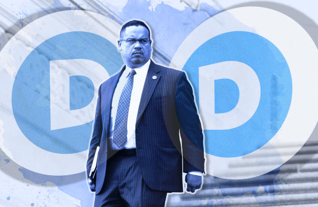 Rep. Keith Ellison, D-Minn., (Photo illustration: Yahoo News; photos: Bill Clark/CQ Roll Call, Getty Images)