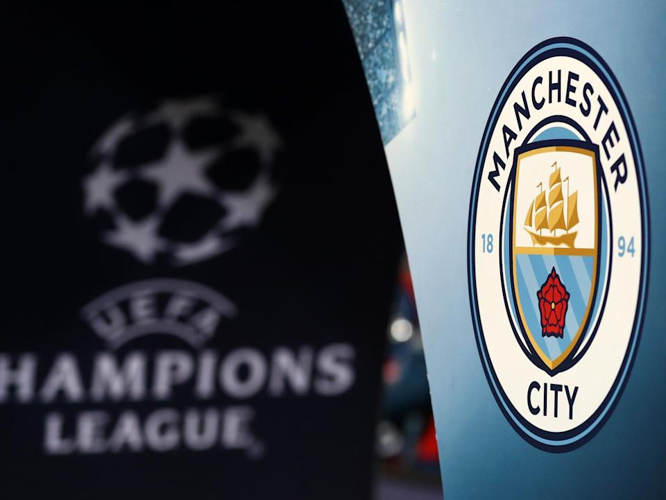 Manchester City face a two-year Champions League ban: Getty Images