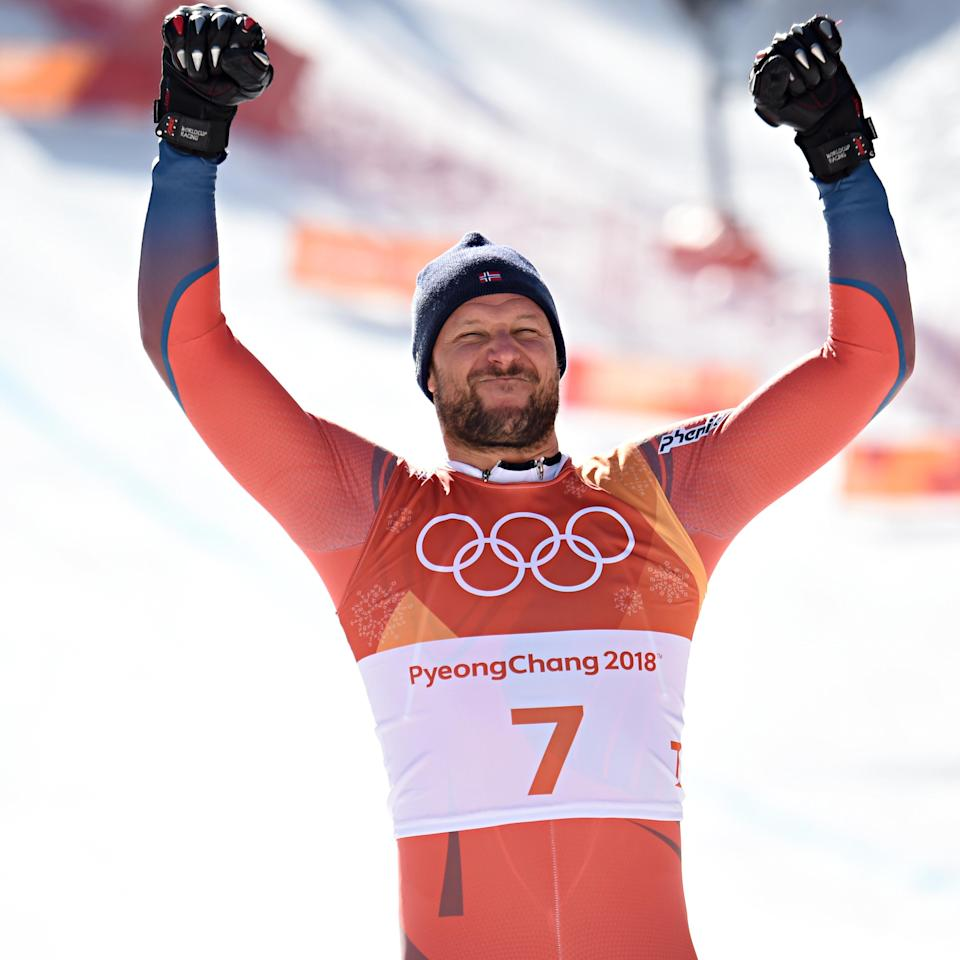 <p>Aksel Lund Svindal is one of numerous Norwegian gold medalists at the PyeongChang Olympics. He also sports a tidy patch of Norwegian face fungus that puts him in podium contention for our shortlist of the best facial hair at the 2018 Winter Games. (Getty) </p>