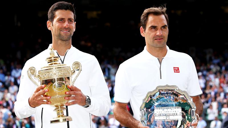 Novak Djokovic beat Roger Federer in an epic Wimbledon final.