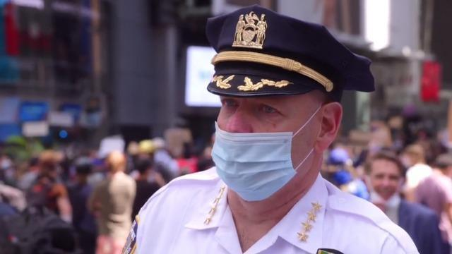 "Police chief says he doesn't ""believe racism plays a role"" in NYPD"