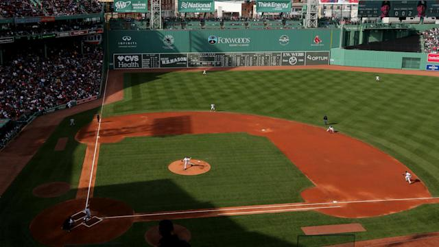 The Red Sox permanently banned a fan from Fenway Park after a racial slur was used toward another fan.