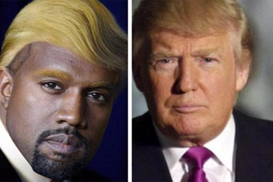When Kanye West was likened to republican Donald Trump.