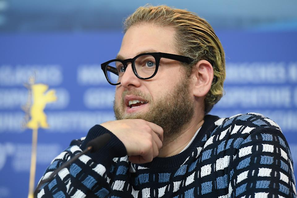 BERLIN, GERMANY - FEBRUARY 10: Jonah Hill attends the