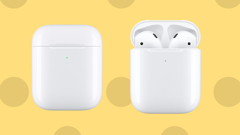 The very best sales this weekend are right here—including save nearly $50 on these Apple AirPods. (Photo: Apple)