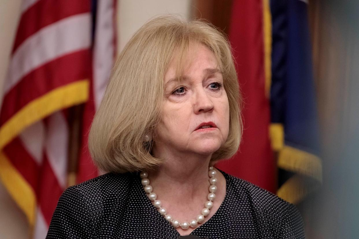 St. Louis Mayor Lyda Krewson speaks at a press conference after the Stockley verdict last month. (Photo: The Washington Post via Getty Images)