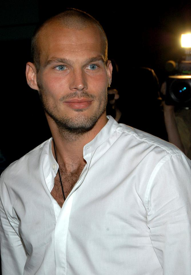 "Hot footballer Freddie Ljungberg moonlights as a Calvin Klein underwear model. Jamie McCarthy/<a href=""http://www.wireimage.com"" target=""new"">WireImage.com</a> - May 21, 2004"