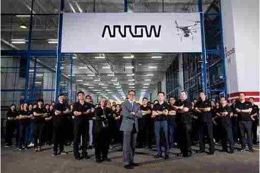 Arrow Electronics Launches Award-winning Drone Project in its Primary Distribution Centers in Hong Kong and Malaysia