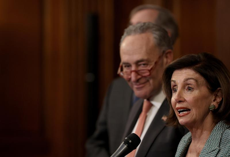 Democrats tack on demands to $250 billion boost for small businesses