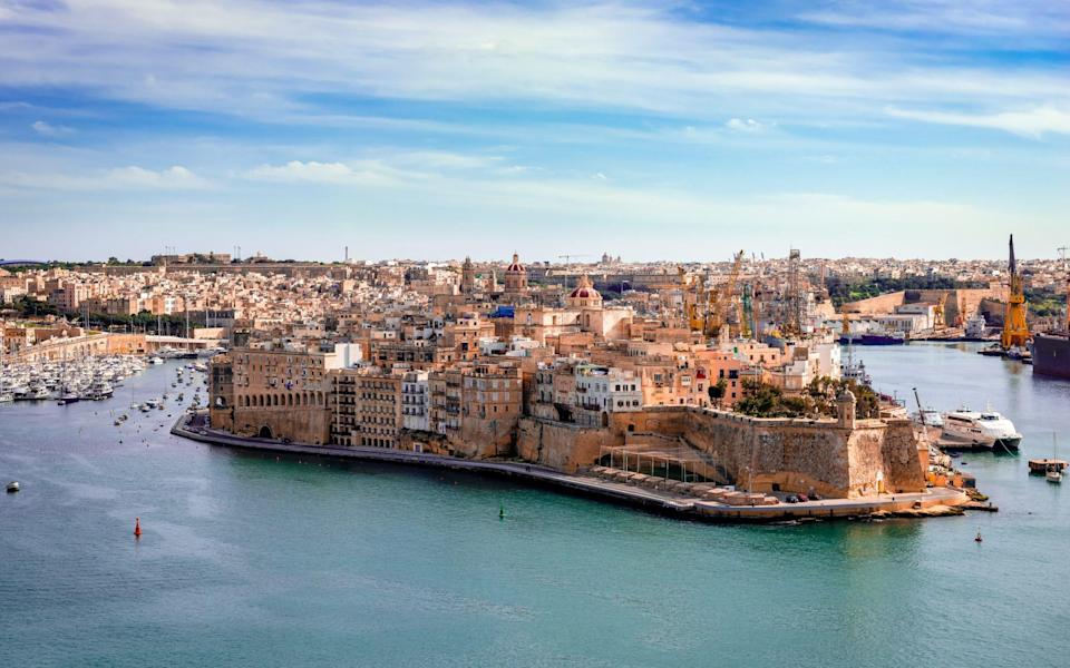 Fort St Angelo is Malta's oldest fort - Getty