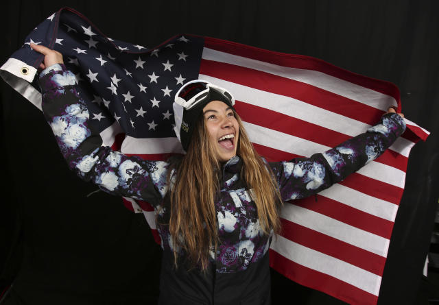 <p>U.S. Olympic Winter Games snowboarding big air / slopestyle hopeful Hailey Langland was the first woman to land a double cork in X-Games history. </p>